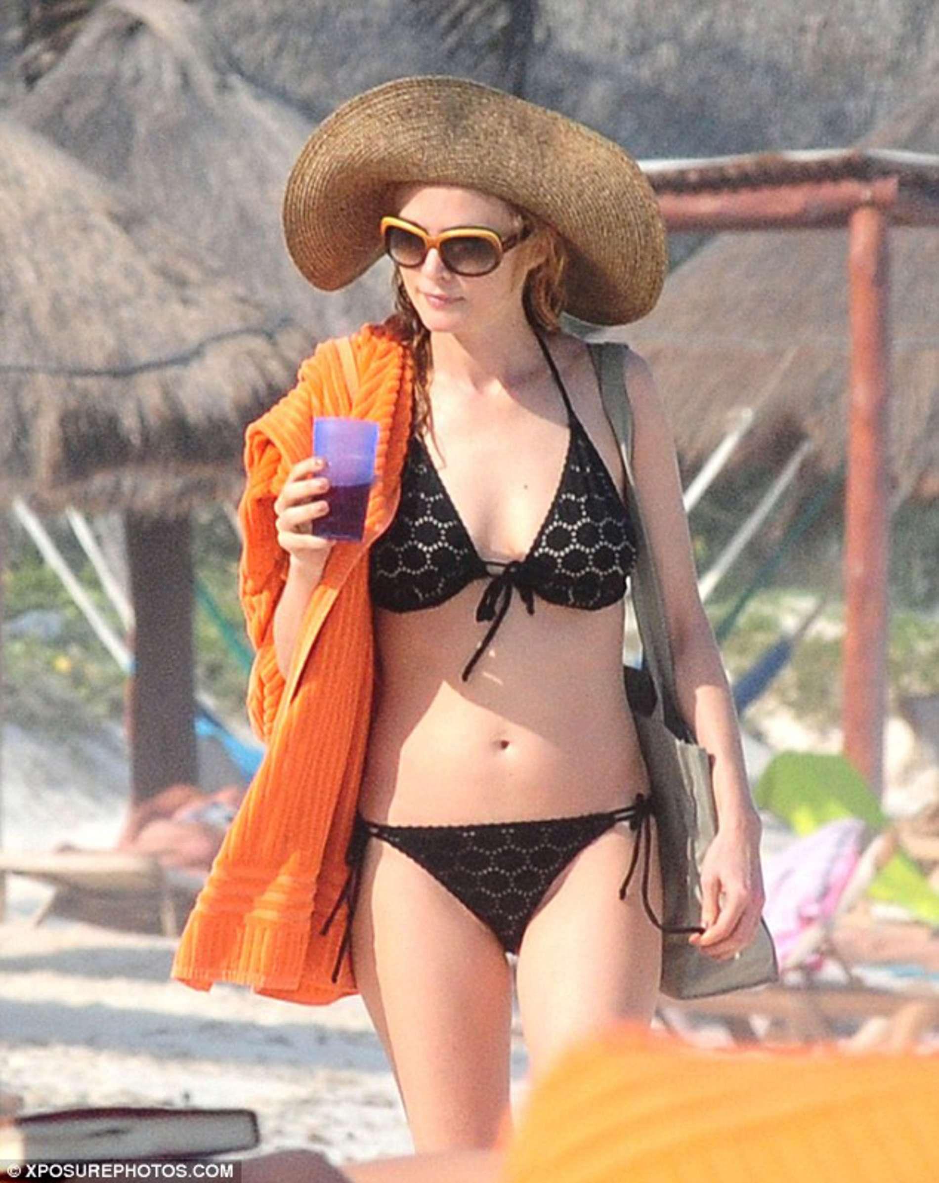 Heather graham red sox bikini