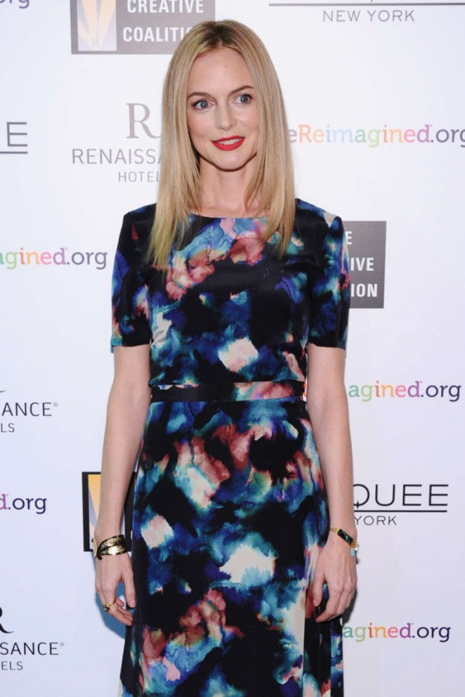 Heather Graham - Creative Coalition's Spotlight Awards Dinner Gala in NYC