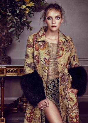 Heather Marks - Elle Russia Magazine (December 2014)