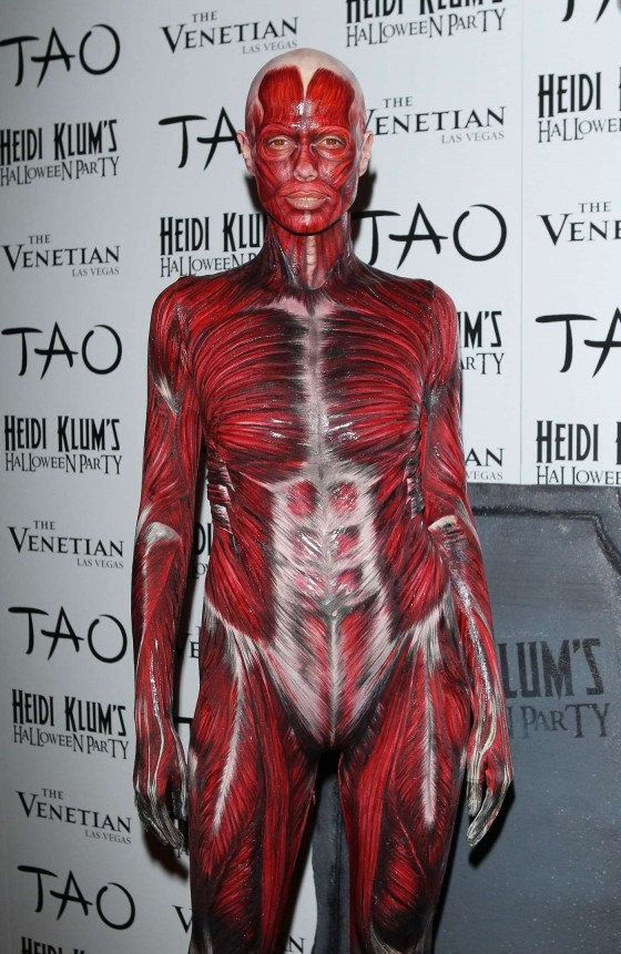 Heidi Klum – 2011 12th Annual Halloween Party in Las Vegas