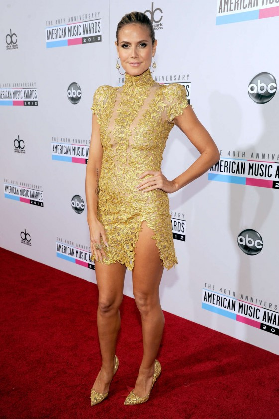 Heidi Klum - 40th annual AMA Nokia Theater LA
