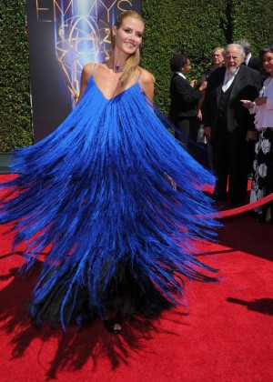 Heidi Klum - 2014 Creative Arts Emmy Awards