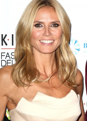 Heidi Klum - 2014 K.I.D.S./Fashion Delivers Gala in New York City