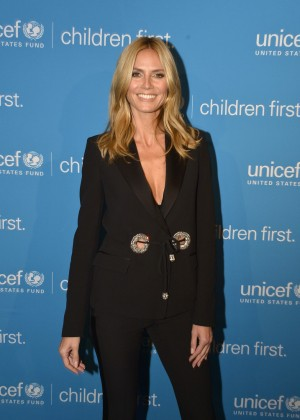 Heidi Klum - 2014 UNICEF Children's Champion Award Dinner in Boston