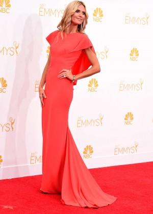 Heidi Klum - 66th annual Primetime Emmy Awards in LA