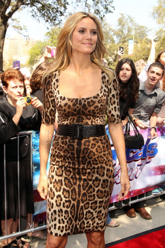 Heidi Klum – America's Got Talent in San Antonio 2013