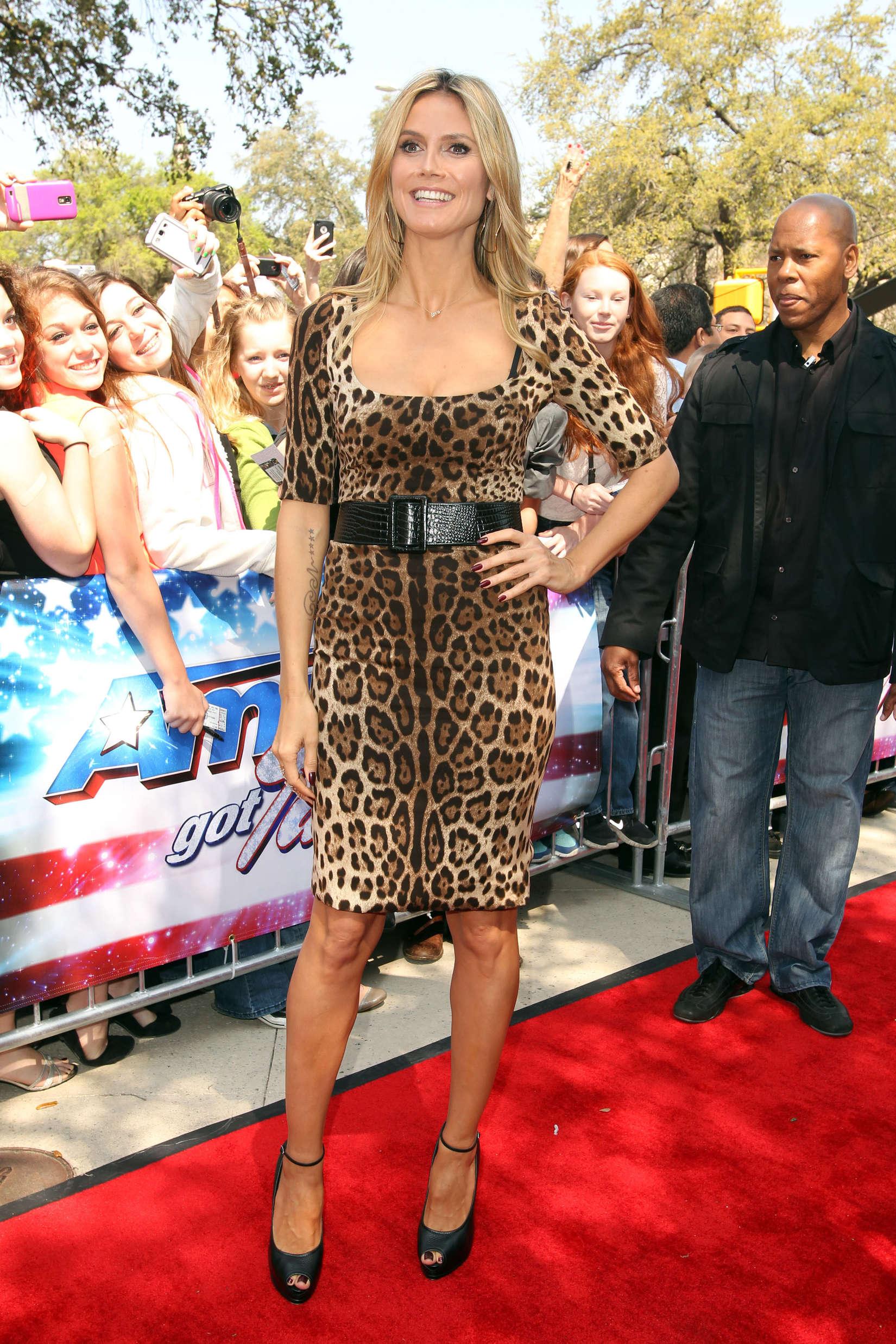 Heidi Klum America's Got Talent