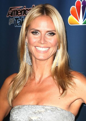 Heidi Klum - America's Got Talent Post-Show