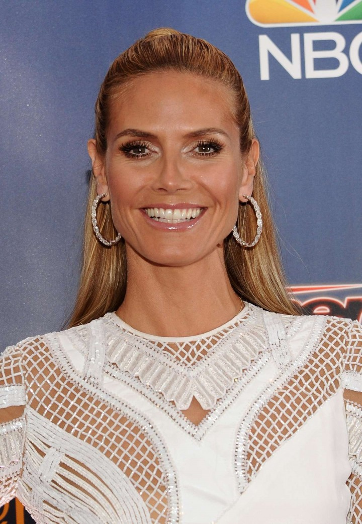 "Heidi Klum - ""America's Got Talent"" Radio City Post-Show"