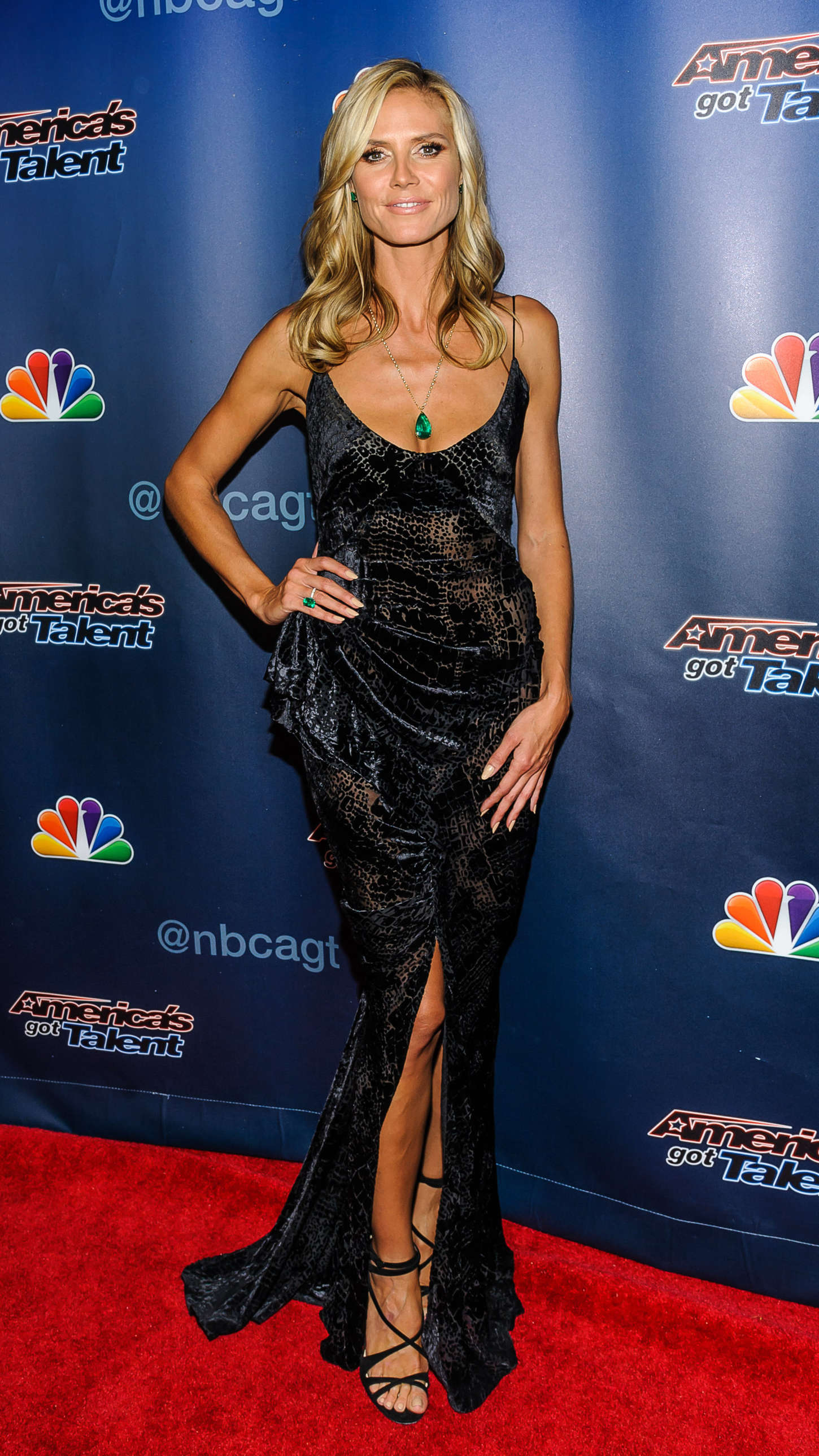 Heidi Klum Americas Got Talent Season 9 Finale Event 10