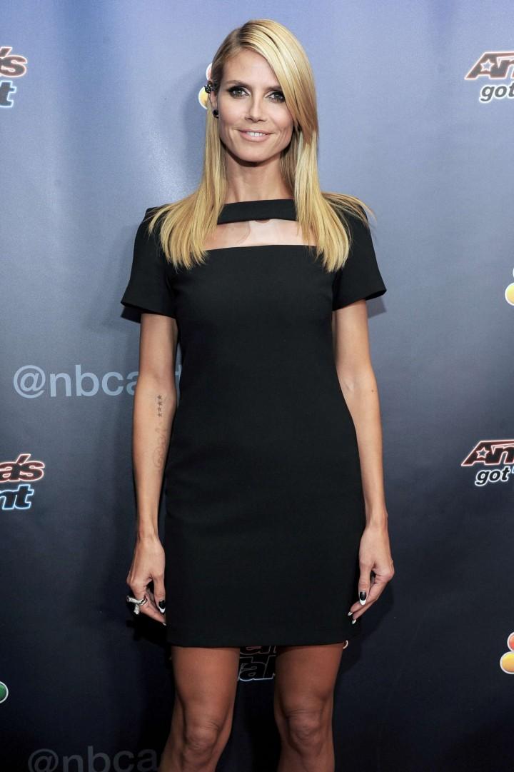 Heidi Klum - America's Got Talent Season 9 Post Show Red Carpet Event in NYC