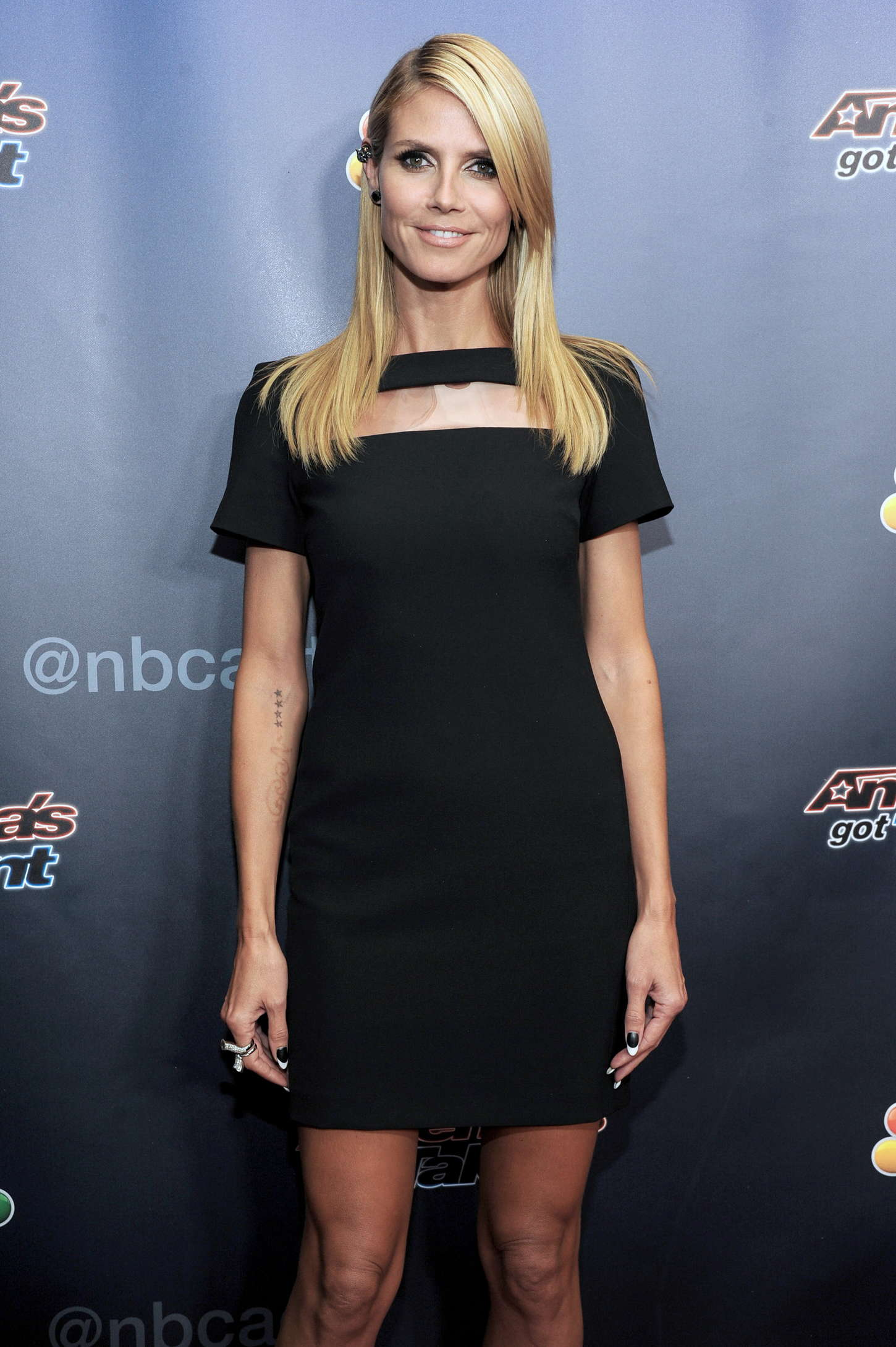 Heidi Klum - America's Got Talent Season 9 Post Show Red Carpet Event in NYC