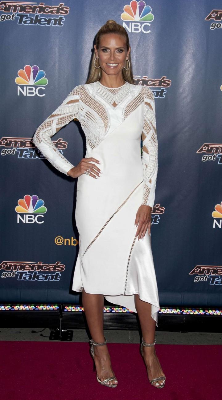 Heidi Klum 2014 : Heidi Klum: Americas Got Talent Season 9 Event -03