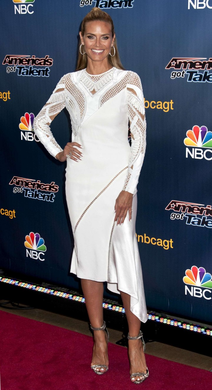 Heidi Klum: Americas Got Talent Season 9 Event -05