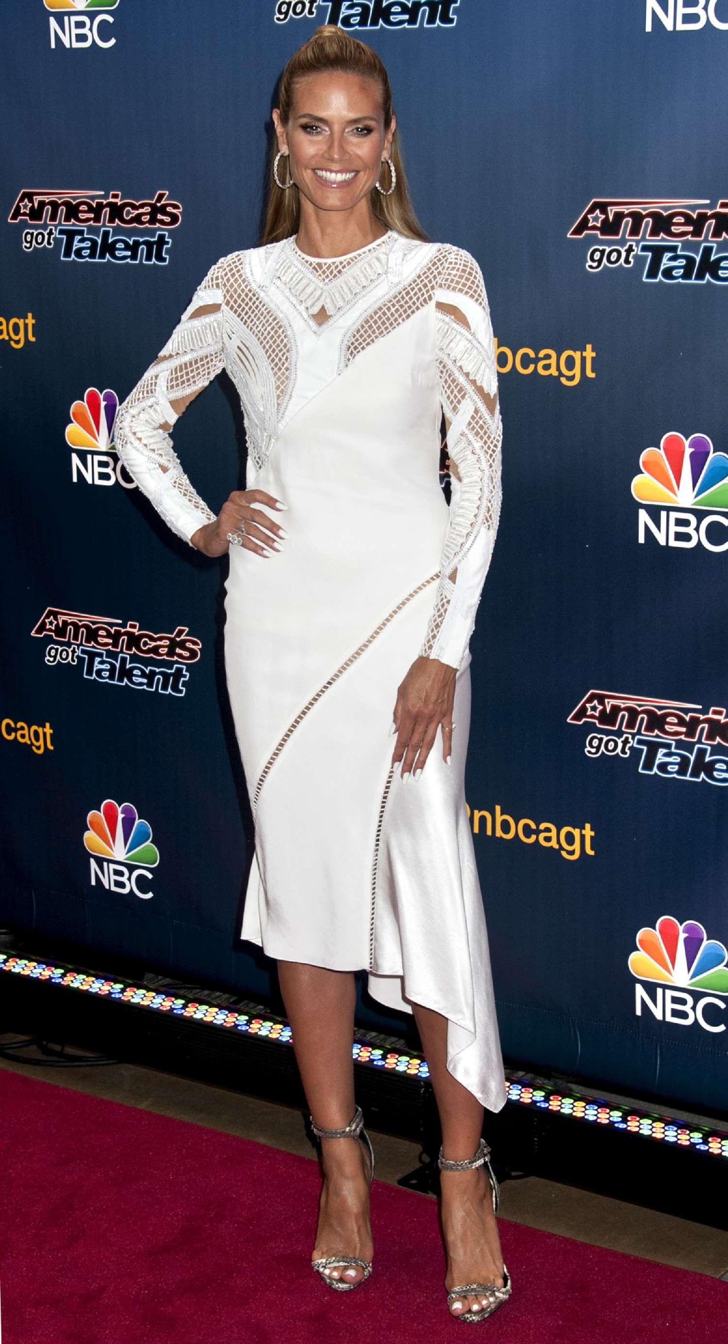 Heidi Klum 2014 : Heidi Klum: Americas Got Talent Season 9 Event -05