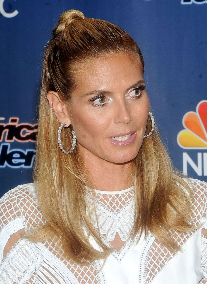 Heidi Klum 2014 : Heidi Klum: Americas Got Talent Season 9 Event -06