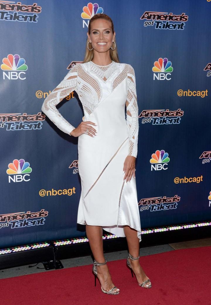 Heidi Klum 2014 : Heidi Klum: Americas Got Talent Season 9 Event -11