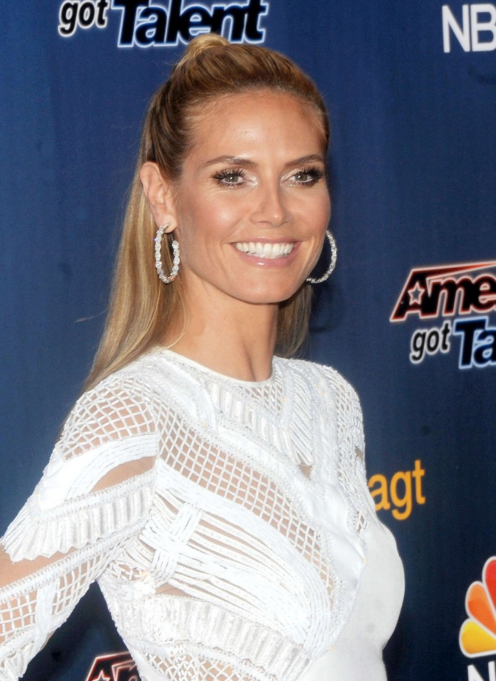 Heidi Klum: Americas Got Talent Season 9 Event -16