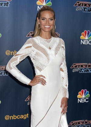 Heidi Klum - America's Got Talent Season 9 Pre-Show Red Carpet Event in NYC