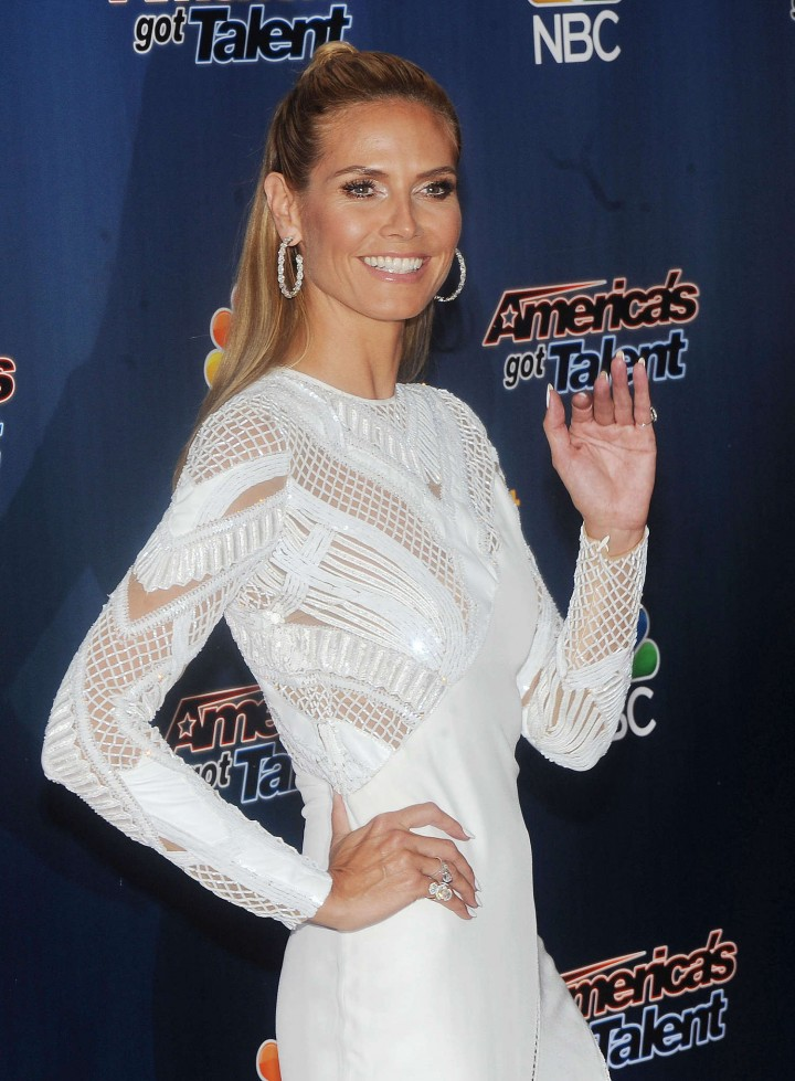 Heidi Klum: Americas Got Talent Season 9 Event -19