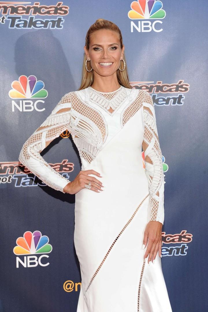 Heidi Klum: Americas Got Talent Season 9 Event -20