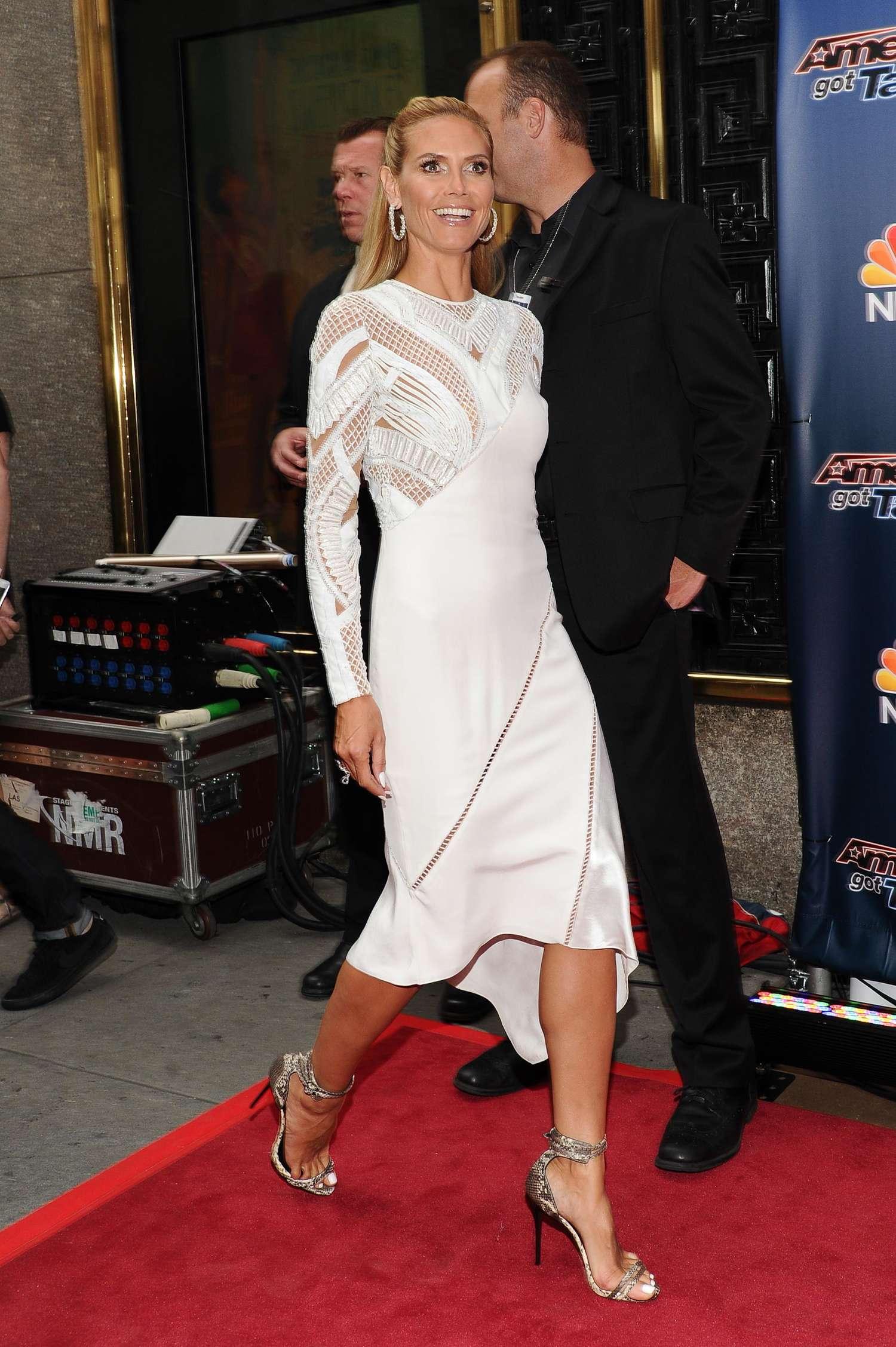Heidi Klum 2014 : Heidi Klum: Americas Got Talent Season 9 Event -21