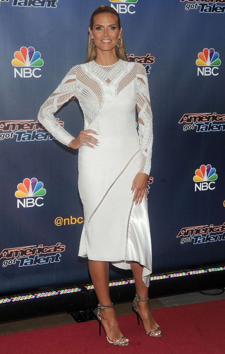 Heidi Klum: Americas Got Talent Season 9 Event -31