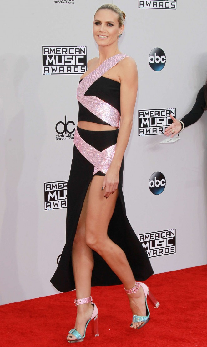 Heidi Klum - 2014 American Music Awards in LA