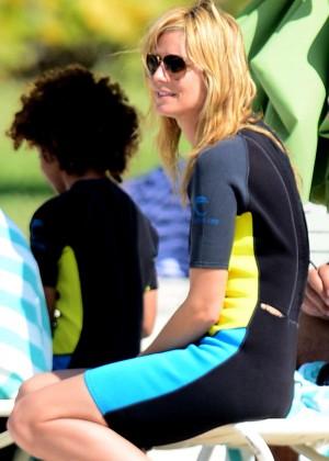 Heidi Klum: Bikini Photos 2014 in the Bahamas -02