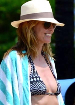 Heidi Klum: Bikini Photos 2014 in the Bahamas -03