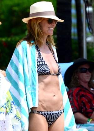 Heidi Klum: Bikini Photos 2014 in the Bahamas -07