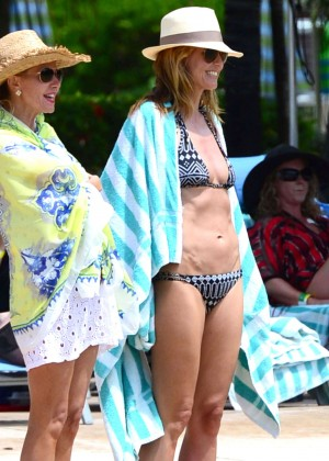 Heidi Klum: Bikini Photos 2014 in the Bahamas -08