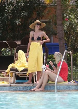 Heidi Klum Bikini Photos: 2014 in Bahamas -04
