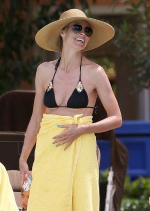 Heidi Klum Bikini Photos: 2014 in Bahamas -06