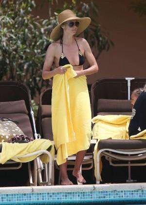 Heidi Klum Bikini Photos: 2014 in Bahamas -14