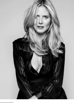 Heidi Klum - Boston Common Magazine (Holiday 2014)