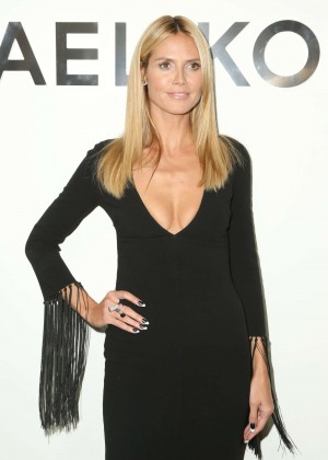 Heidi Klum - Michael Kors Fashion Show in NYC