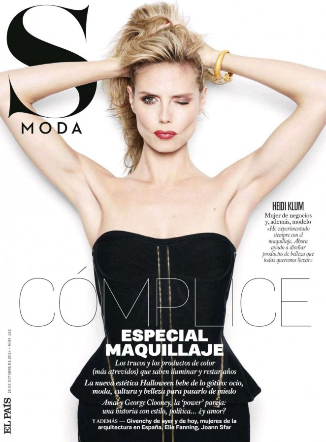 Heidi Klum - S Moda Spain Magazine (October 2014)