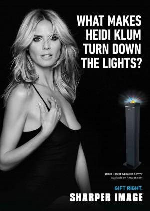 Heidi Klum: Sharper Campaign 2014 -01