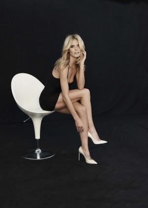 Heidi Klum: Sharper Campaign 2014 -04
