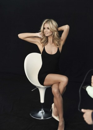 Heidi Klum ad campaign for Sharper Image 2014