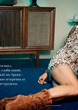 Heidi Klum - Vogue Russia Magazine (October 2014)