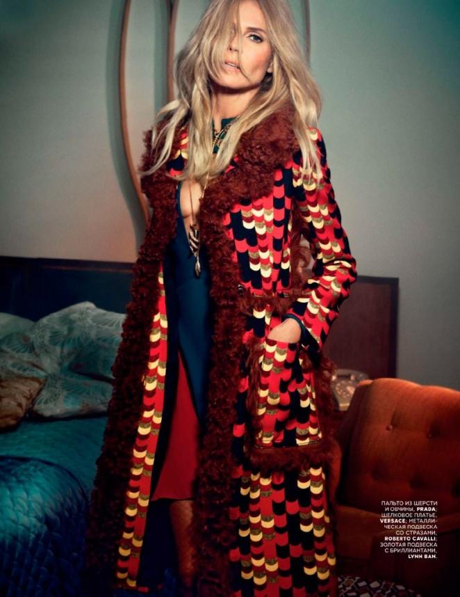 Heidi Klum: Vogue Russia 2014 -04