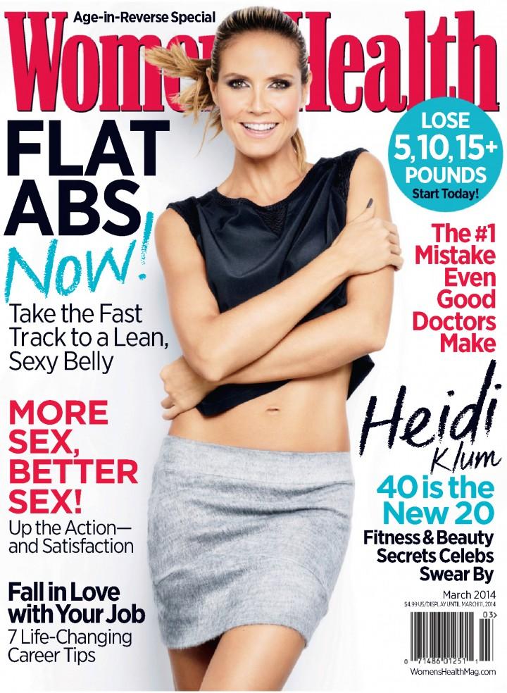 Heidi Klum: Womens Health Magazine -04