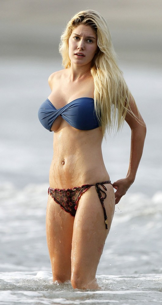 Heidi Montag Bikini Fell Off Pics At Costa Rica Sept 11