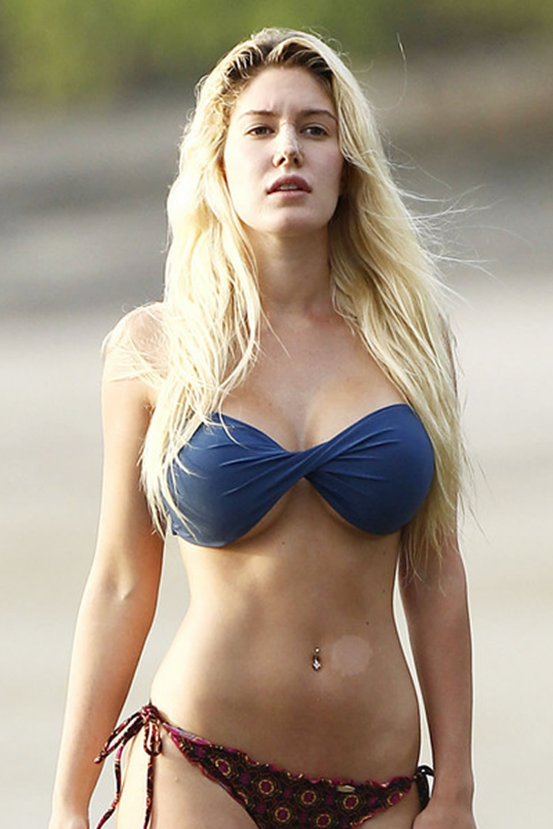 Heidi Montag Bikini Fell Off Pics At Costa Rica Sept 11