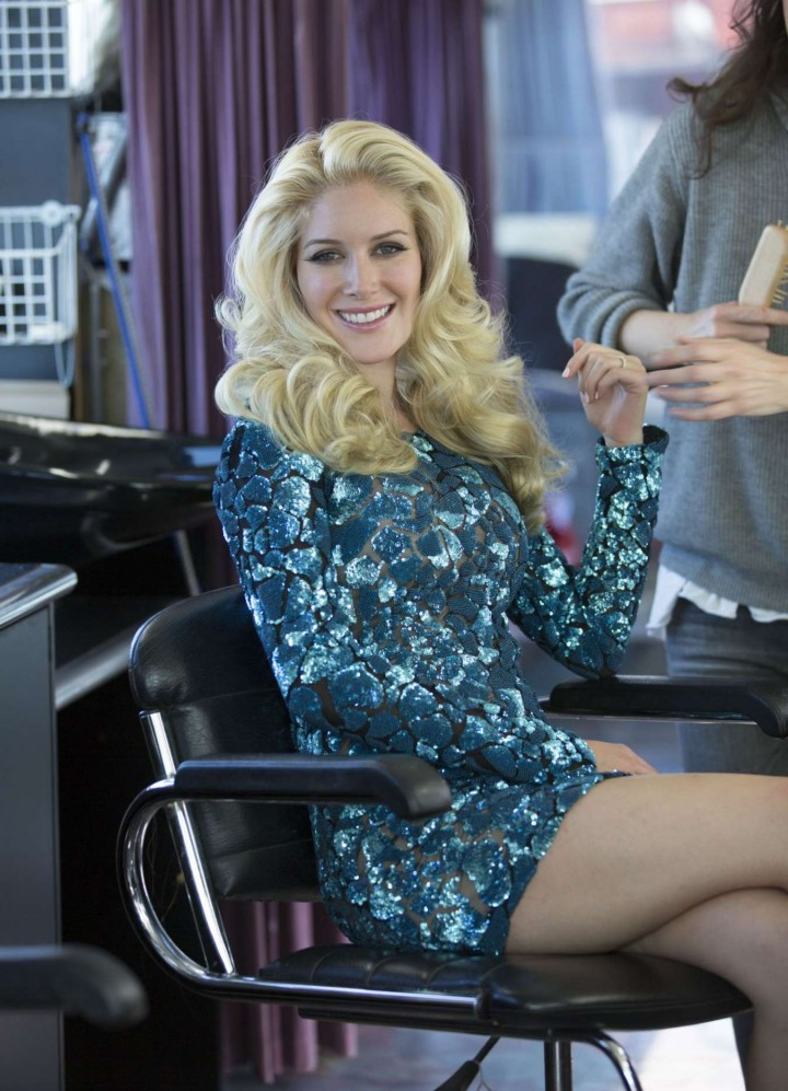 Heidi Montag - Filming a Commercial for Sealord in Auckland, New Zealand