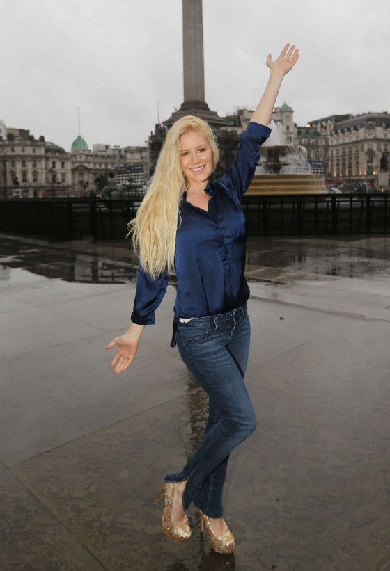 Heidi Montag - Out and about in London