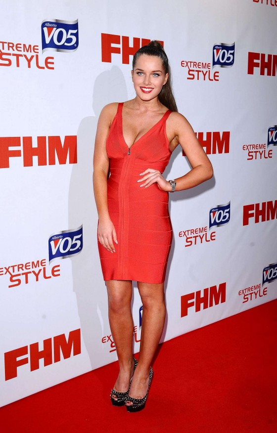 Helen Flanagan - 2012 FHM One Hundred Party in London