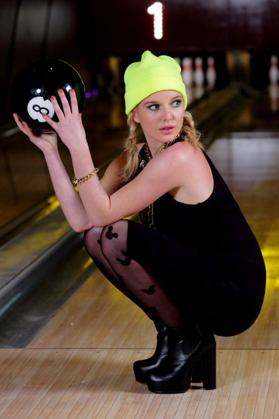 Helen Flanagan – Dog Bowl Bowling Alley Photoshoot – March 2013 -03